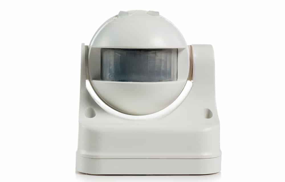 Buitenverlichting met sensor digitale etalages
